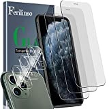 Ferilinso [6 Pack] 3 Pack Tempered Glass Screen