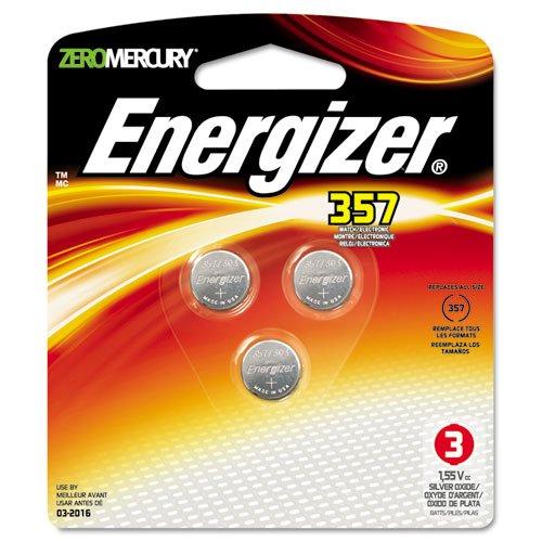 - Watch/Electronic Battery, SilvOx, 357, 1.5V, MercFree, 3/