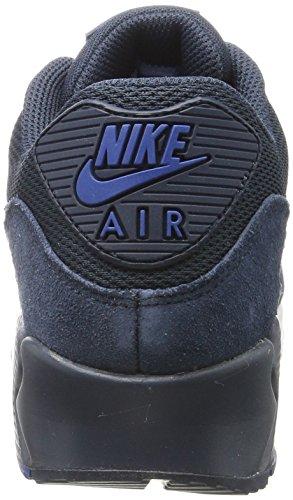 Nike Air Max 90 Essential Scarpe Da Ginnastica Uomo Blu armor Nav armor Nav-blue Ja-white