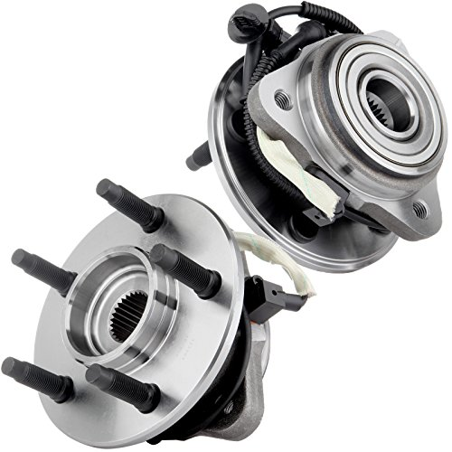 Ford Ranger Wheel Bearing - ECCPP Replacement for Front Wheel Hub Bearing Assembly Explorer Mountaineer (Sport) Trac 4WD 2pcs