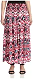 James & Erin Women's Printed Full Skirt, Wild Berry Multi, M