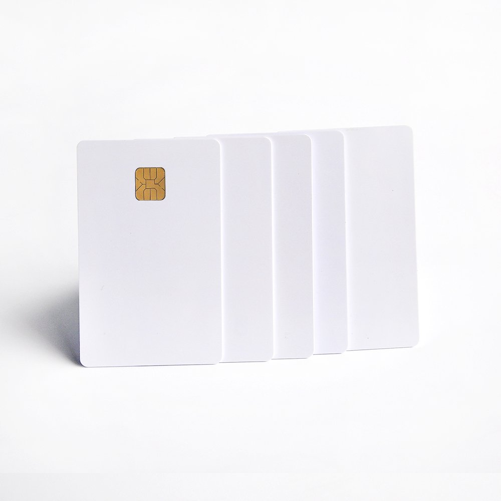 20pcs FM4428 chip contact smart card hotel key card comply with ISO7816 protocol Shenzhen Fongwah Technology Co. Ltd FW-SLE4428