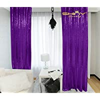 Purple Sequin Photo Booth Backdrop-2ftx8ft