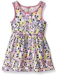 Baby Girls' Rainbow Animal Print Knit Dress