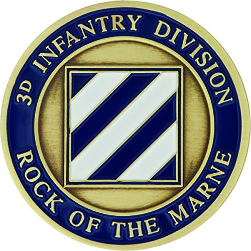 (3rd Infantry Division Challenge Coin )