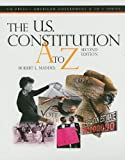 The U. S. Constitution A to Z, Congressional Quarterly, Inc. Staff and Robert L. Maddex, 0872897648