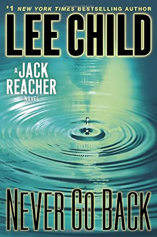 book cover of Never Go Back