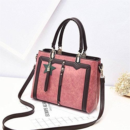 Antique Women'S Bag And Handbag Cross Shoulder Single Pink Women'S Single p0S7Ux