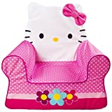 Marshmallow Furniture - Children's Foam Comfy Chair - Hello Kitty - by Spin Master