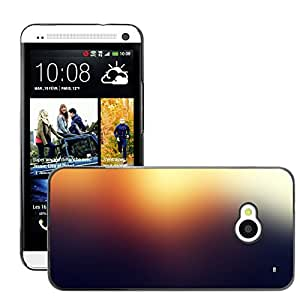Super Stellar Slim PC Hard Case Cover Skin Armor Shell Protection // M00048820 sunset blurry aero colorful // HTC ONE M7