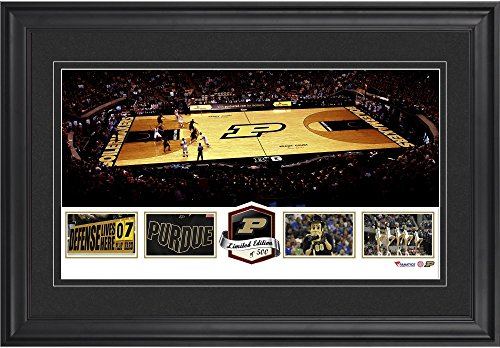 Purdue Boilermakers Framed (Mackey Arena Purdue Boilermakers Framed Panoramic Collage-Limited Edition of 500 - Fanatics Authentic Certified)