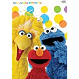 Sesame Street Party – Treat Bags Party Accessory, Health Care Stuffs