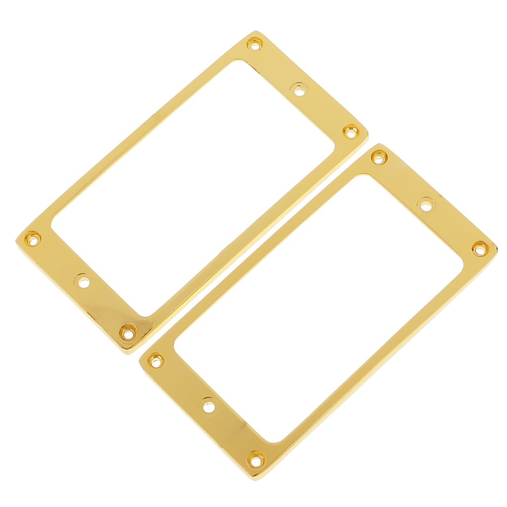 Dovewill Mini Guitar Humbucker Pickup Mounting Ring Set for Les Paul Gibson Guitar Accessories Slanted
