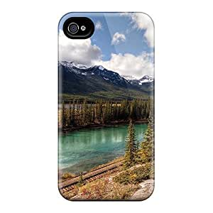 FTatibv6110UezeE Case Cover Mountain Iphone 4/4s Protective Case