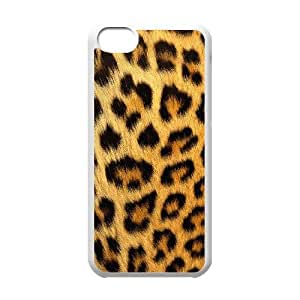 Snow leopard iPhone 5c Cell Phone Case White SH6129718