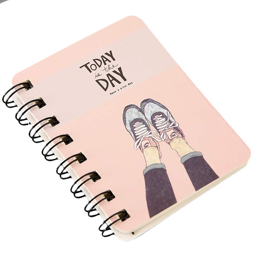 Cupcinu Portable Spiral Notepads - All Weather Spiral Notebooks for Outdoor Activities Recording and Tactical Pocket 10.5cmX8cm