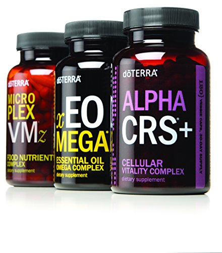 (doTERRA Lifelong Vitality Pack- Alpha CRS+, xEO Mega and Microplex VMz)