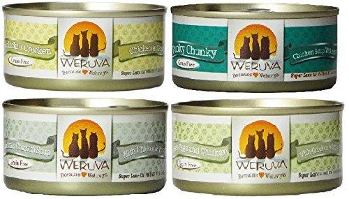 Weruva Grain (Weruva Chicken 3oz Variety Pack (24 Cans Total))