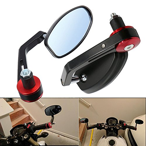 Handlebar End Mirrors - 5