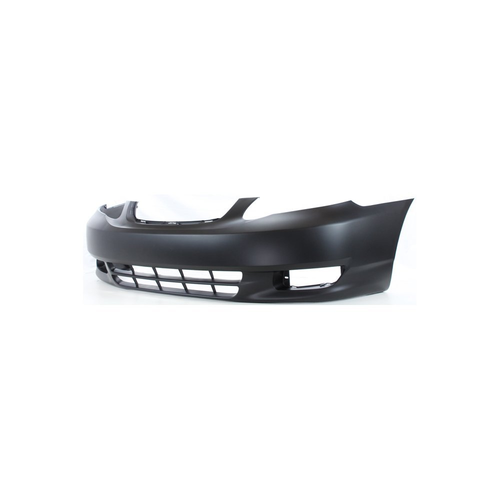 Front Bumper Cover Primed Compatible with 2003-2004 Toyota Corolla