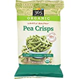 365 Everyday Value, Organic Lightly Salted Pea Crisps, 3.3 Ounce