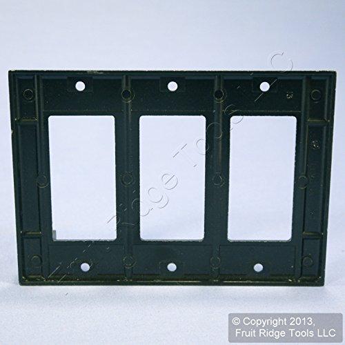 Leviton 004-80401-00E Single Gang Black Decora GFCI Wallplate