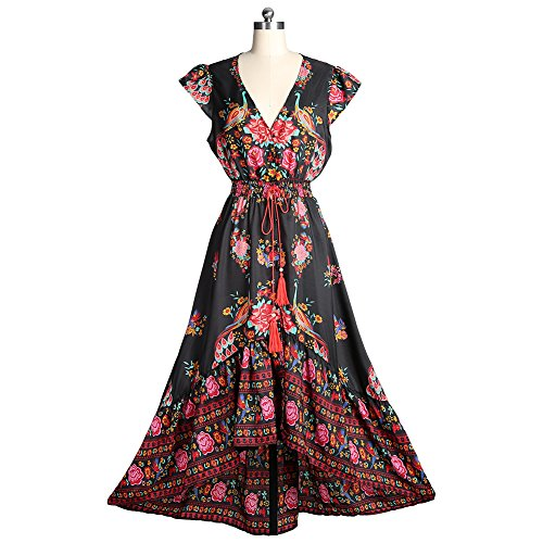 WELOVE Floral Printed Bohemian Sleeveless product image