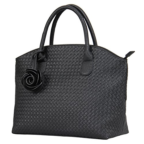 Hynes Victory Woven Pattern Handbags