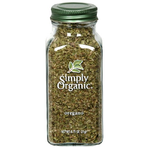 Simply Organic Oregano Leaf Cut & Sifted Certified Organic.75-Ounce Containers (Pack of 6)