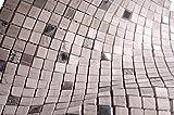 Grey Luxury Square Pebble Stone Mosaic Tiles for Bathroom and Kitchen Walls Kitchen Backsplashes (Free Shipping)