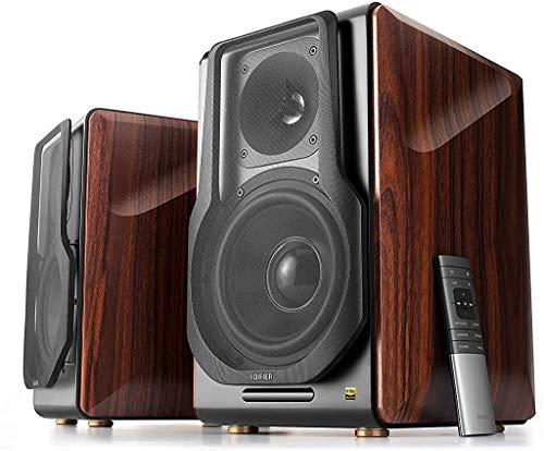 Edifier S3000Pro Audiophile actieve luidspreker met Bluetooth 5.0, aptX-technologie, USB-audio, planaremtweeter en 6,5…