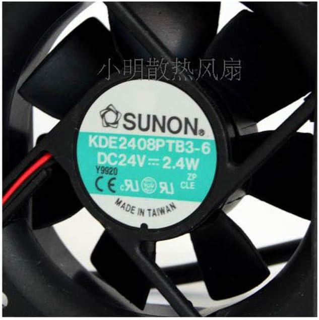 Cytom for Genuine Taiwan Jianzhun SUNON Fan KDE2408PTB3-6 DC24v Fan 80x80x25