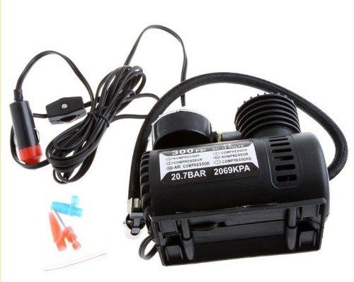 12V Car Auto Electric Pump Air Compressor Portable Tire Inflator 300PSI K590 by Cool Shiny SPORT LIGHT LLC