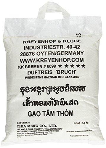 Dancing Dragons Duft-Bruch-Reis; 1. Qualität, 3er Pack (3 x 4.5 kg Packung)