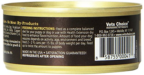 Cedar Crate Market Holistic Health Extension Meaty Mix Wet Dog Food Variety Pack - 5.5 Oz. - Chicken, Beef, Lamb, and Duck (12 Pack) by Cedar Crate Market (Image #5)