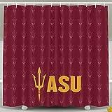 IWKULAD ASU Arizona State Sun Devils Custom Customized Shower Curtains