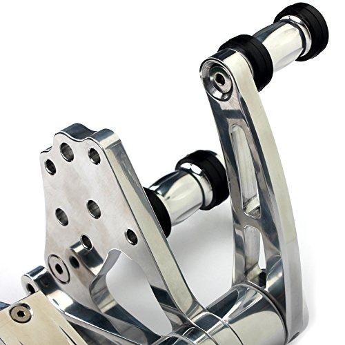 TARAZON CNC Forward Controls for Harley Softail FXSTS FXSTC FLST FLSTF FLSTFI FLSTN 84-99