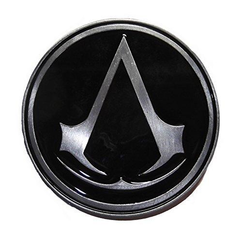Assassins Creed ASSASSIN INSIGNIA Metal and Black Enamel BELT BUCKLE ()