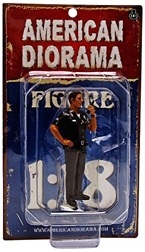 American Diorama Wholesale Police Officer Jake Figure For 1:18 Scale Models from American Diorama