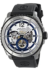 Armand Nicolet Men's T619A-AG-G9610 L09 Limited Edition Titanium Sporty Hand Wind Watch