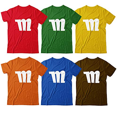 M Chocolate Candy M Letter Halloween Costume Group Customized Handmade T-Shirt Hoodie/Long Sleeve/Tank Top/Sweatshirt]()
