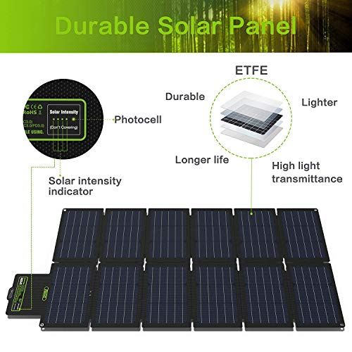 Image of Upgrade Topsolar SolarFairy 100W Portable Foldable Solar Panel Charger Kit