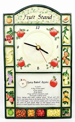 Kitchen Clock,Fruit Stand,second hand,baskets