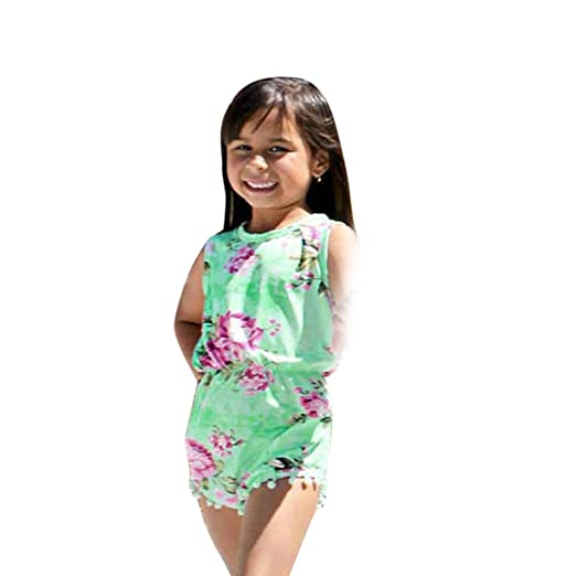 be638ffe4702 Anboo Mommy And Baby Girl Floral Matching Outfit Maxi Dress Jumpsuit Party  Festival Family Clothes (
