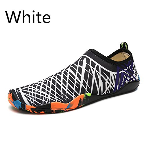 Footwear Men White Sneakers Summer Sports for Women Shoes Water Unisex Aqua Lx Yoga Shoes Breathable Shoes Slip Swimming On Beach 988 Tf0cpwq
