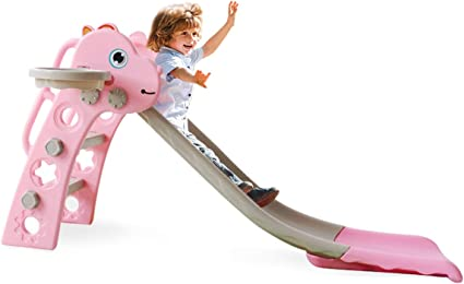 3 IN 1 Fun Slide Set Kids Playground Slide Outdoor Backyard Folding Baby Toys