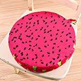 Spritech(TM) Superior Comfort Winter Funny Pitaya Shape Seat Cushion for Birthday Gifts Daily Use Room Decor
