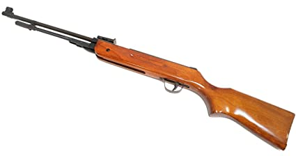New Air Pellet Rifle Gun B3 5 5mm 22 Caliber Real Wood