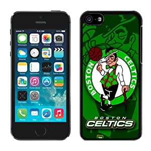 Unique Custom Designed Cover Case For iPhone 5C With boston celtics 5 Black Phone Case
