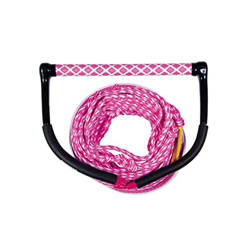 51LXfM4X9DL. SS500  - Jobe Wake Combo Core Rope/Handle - Pink